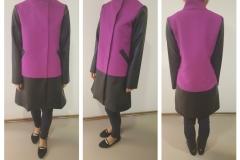 Lilla must mantel, suurus M, hind 73 eur